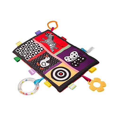 G-Tree sécurité Tag Couverture pour bébés - enfants en bas âge Étiquette Couverture Build-BB et Ringing papier, coloré taggie Blanket Jouet grand cadeau pour bébé, enfant en bas âge