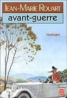 Avant-guerre 2253035475 Book Cover