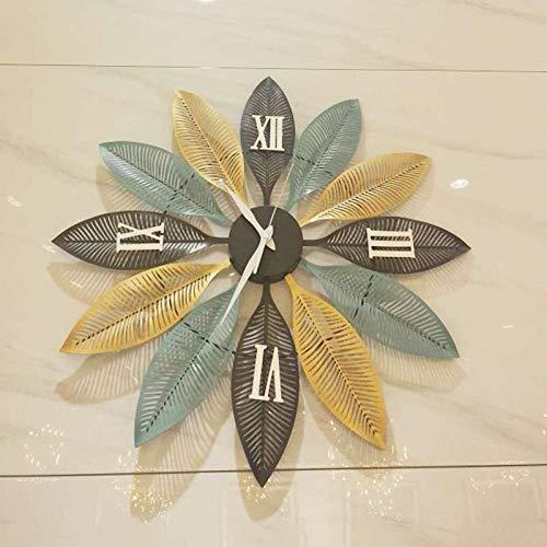 LIJINFEI Wanduhr kreative Stumm Wohnzimmer Wandkunst Uhr @ 20 Zoll Blatt Uhr Trompete