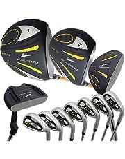 WORLD EAGLE(ワールドイーグル) 5Z メンズ ゴルフ クラブ フルセット ブラック 右用 フレックスS WE-5Z-BK-S-W/O
