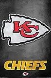 Trends International Kansas City Chiefs Logo Wall Poster 22.375' x 34'