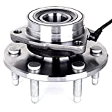 ECCPP Wheel Hub and Bearing Assembly Front 515036 fit for Chevrolet Silverado 1500 GMC Sierra 1500 Cadillac Escalade Chevrolet Tahoe 1999-2007 4WD 4x4 Only 6 Lugs Wheel Hub with ABS 3 Bolt Flange