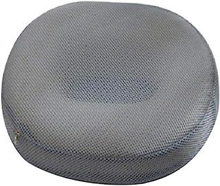 HEALIFTY Cojín ortopédico para asiento de dona, para hemorroides, cojín hueco para coxis, para dolor de coxis, llagas de cama (malla gris)