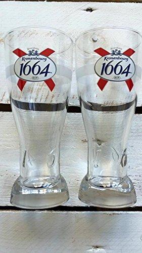 Kronenbourg 1664 Bier Gläser (6X Kronenbourg 0,5)