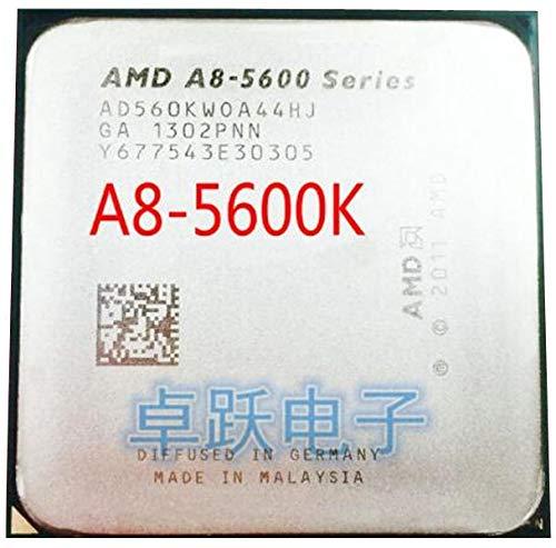 A-Series APU X4 A8-5600K A8 5600K FM2 Quad-Core CPU 100% Working Properly Desktop Processor