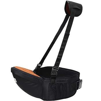 (ケラッタ) ヒップシート ベビーキャリア 抱っこ紐 軽量たったの303g ウエストキャリー 滑り止め付 ウエストポーチ ホルター 調整可