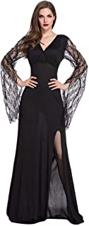 LODDD Women Halloween Party Bar Role Playing Clothing Cosplay Game Dress