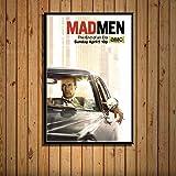 brandless Mad Men Tv-Serie Show Poster Wandkunst Leinwand