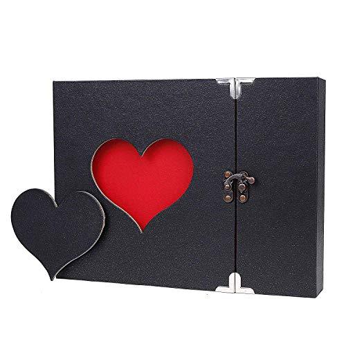 zgy álbum de fotos creativo con diseño de corazón Style 3