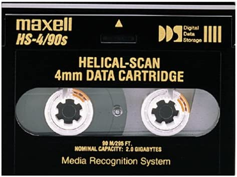 Maxell 2.0GB 91.5M HS-4 90S 4MM Helical for Very popular Don't miss the campaign Cartridge Data Scan