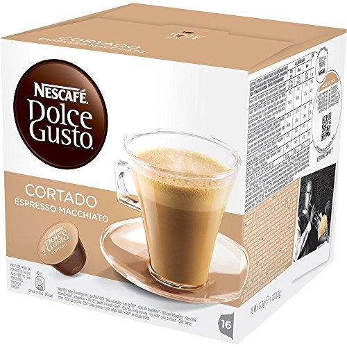 96 Capsule Nescafe' Dolce Gusto Cortado Caffe' Espresso Macchiato