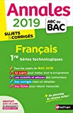 Annales ABC du BAC 2019 - Francais 1re STMG