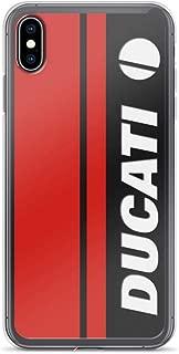 iPhone 7 Plus/8 Plus Pure Clear Case Cases Cover Ducati Carbon