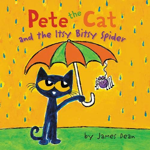 Pete the Cat and the Itsy Bitsy Spider cover art