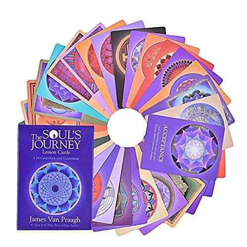 ACCLD Cartas de Tarot The Souls Journey Cartas de Oracle Juegos de baraja de Mesa en inglés Completo Cartas de Tarot de Entretenimiento