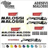 Set Adesivi Malossi Tagliati Singolarmente Stickers Compatibili Kit Decalcomanie Personalizza Colore Moto
