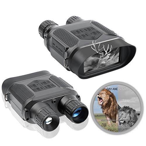 T-Eagle Night Vision Binoculars 7X31 Infared Digital Hunting 2.0 LCD Military Day and Night Vision Goggles Telescope 1300ft / 400M Night Vision Binocular for Hunting Adventure Camping