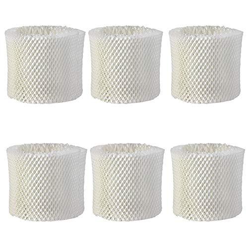 Ersatz - Luftbefeuchter - Filter für Philips HU4801/01, HU4803, HU4803/01, HU4811, HU4811/10, HU4813, HU4813/10 (6 Stück)
