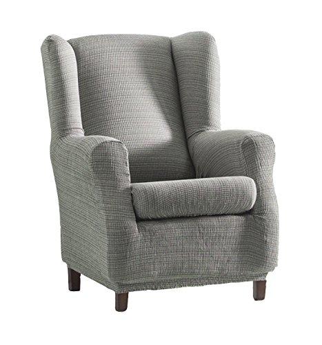 Eysa Aquiles elastisch sofa überwurf ohrensessel farbe 06-grau, Polyester-Baumwolle, 70-90 x 60-80 x 90-110 cm