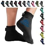 BPS 'Storm Smart Sock' Neoprene 3mm Water Socks - with Anti-Slip Sole