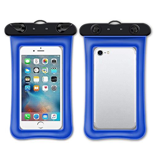 Gshy - Funda Impermeable para teléfono iPhone X XS XR 8 7 6S 6 Plus Samsung Galaxy S9 S8 S7 Huawei P20 Mate 20 Sony Xiaomi HTC hasta 6 Pulgadas
