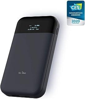 GL.iNet GL-E750 (MUDI) 4G LTE OpenWrt VPN Router, 128GB Max MicroSD, 7000mAh Battery, OpenVPN, WireGuard, Tor, a Router That You can Program (EC25-AFFA Module Installed)
