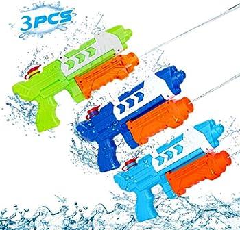 3-Pack KMV Super Soaker Water Blaster Squirt Guns