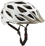 ALPINA Erwachsene Mythos 3.0 Fahrradhelm, White-Silver, 52-57 cm