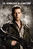 INGLOURIOU.S Basterds - Brad Pitt – Movie Wall Art Poster