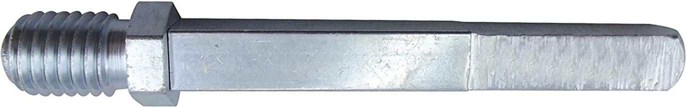 Gedotec Drukstift metaal vierkante pen voor deurbeslag en deurgrepen   wisselstift met M12-schroefdraad   stift 8 x 90 mm...