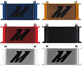 Mishimoto MMOC-19RD Red Universal 19 Row Oil Cooler