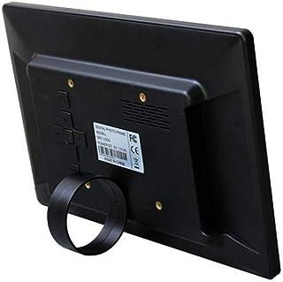 """HUALEIYUAN AU 10.1"""" HD Digital Photo Frame Picture Mult-Media Player MP3 MP4 Alarm Clock for Gift Digital Frame (Color : B..."""