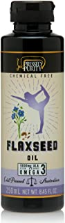 Pressed Purity Flaxseed Oil - Cold Pressed, 250 Milliliters