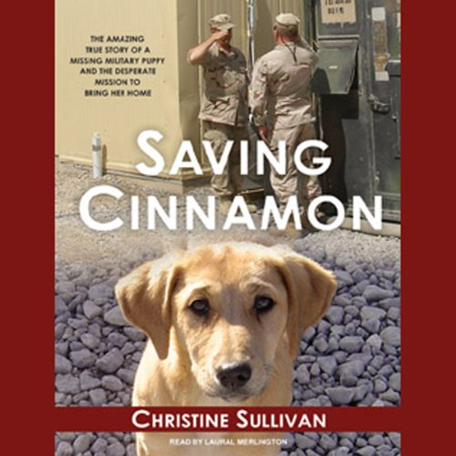 Saving Cinnamon audiobook cover art