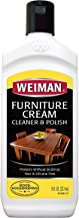 Weiman Wood Cleaner and Polish 8 fl. oz. - Use On Furniture, Wood Table Cleaner, Cabinet Restorer, Conditioner, Polish