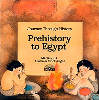 Paperback Prehistory to Egypt (Journey Through History) (English and Spanish Edition) Book