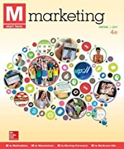 M: Marketing with ConnectPlus 4th edition by Grewal, Dhruv, Levy, Michael (2014) Paperback