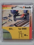 KWB 49355118 Pack, 18 mm, Set de 800 Piezas