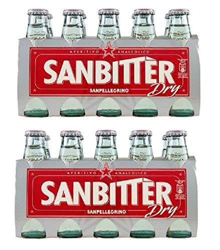 20 Stück Sanbittèr weiss dry 100ml Aperitif Sanbitter Klassisch Italienisch