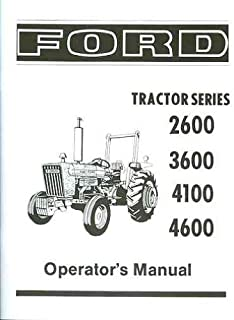 amazon com: ford tractor 2600 3600 4100 4600 on ford one wire  alternator diagram