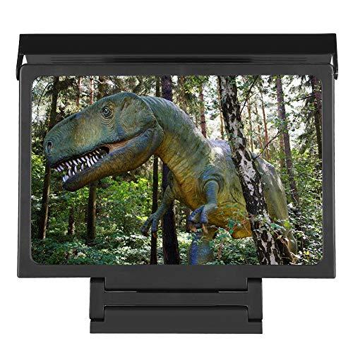 Jopwkuin Loupe D écran de Téléphone Portable, Support de Loupe Haute Définition Vidéo 3D, Loupe Vidéo Haute Définition Universelle pour Intérieur, Camping