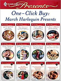 One-Click Buy: March Harlequin Presents