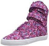 Supra Womens Society II SW34114 Damen Sneaker, Pink (Orchid Flower - White ORC), EU 37.5 (UK 5.5) (US 6.5)