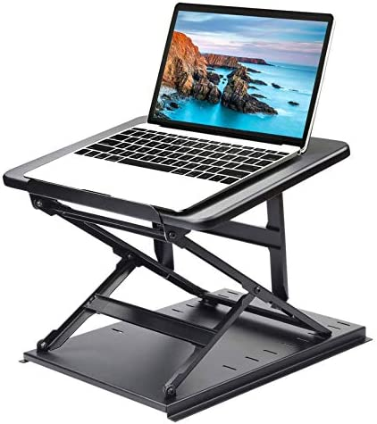 HUANUO Adjustable Laptop Stand for Desk Easy to Sit or Stand with 9 Adjustable Angles Laptop product image