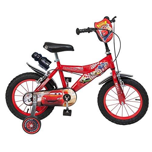 GUIZMAX Vélo Enfant 14 Pouces Cars Licence Officielle Disney