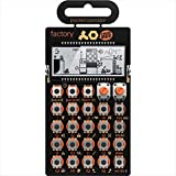 Teenage Engineering PO -16 factory - Lead Synthesizer (16 Step Sequenzer, 15 Sounds, Micro Drum Maschine, 16 Samples, Lautsprecher, Line In/Out, LCD-Display)