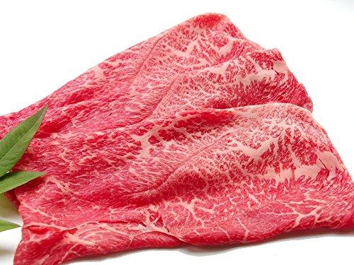 冷凍 【厳選 黒毛和牛 メス牛限定 】 あっさり 赤身モモ すき焼き 肉 1.2Kg