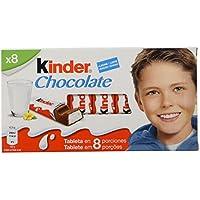 Kinder Chocolate Barritas de Chocolate con Leche
