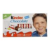 Kinder Chocolate - Barritas de Chocolate con Leche - 8 unidades x 12.5 g