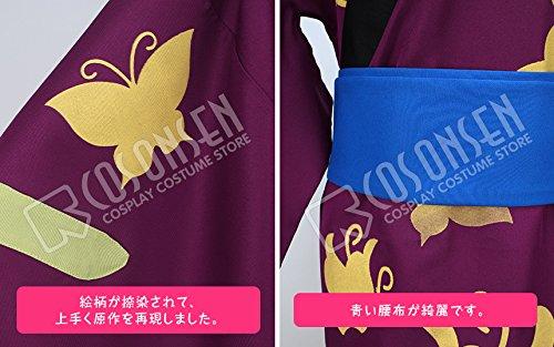 『銀魂 高杉晋助 風 和服 コスプレ衣装 (女性M)』の3枚目の画像
